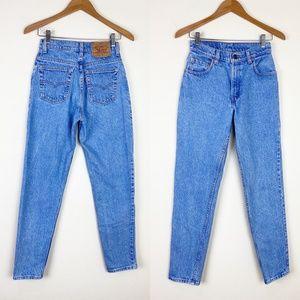VTG LEVIS High Waist Denim Mom Jeans 26x32 USA